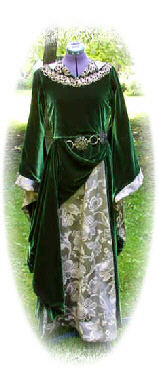 eowyn-green gown